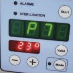 programmateur ergonomie sterilisateur programme