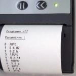 tracabilité programmation température impression ticket pression